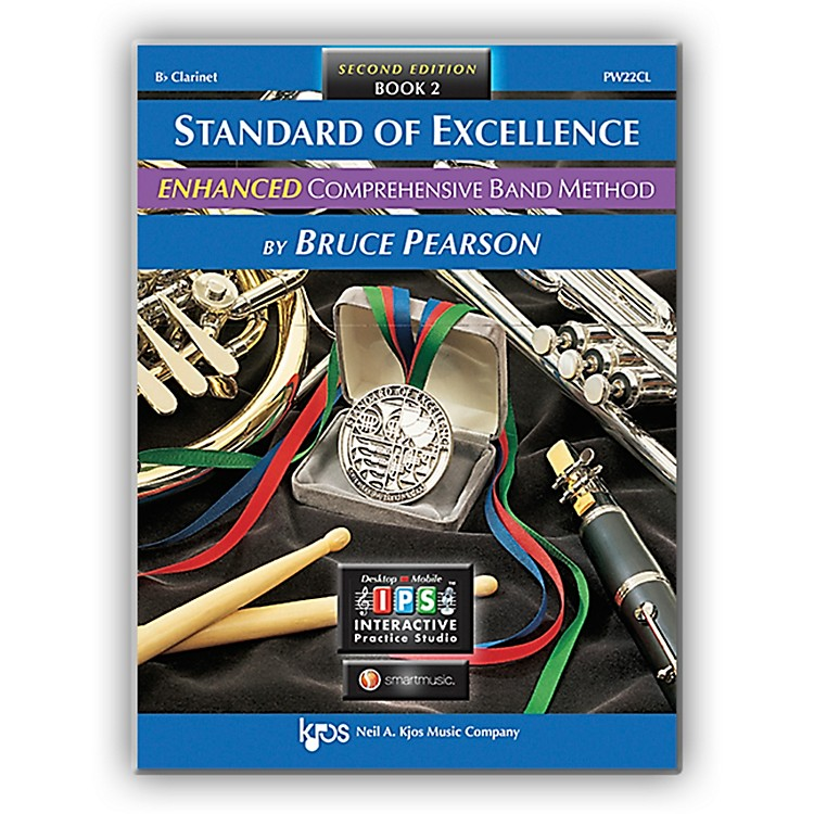 KJOS Standard Of Excellence Book 2 Enhanced Clarinet