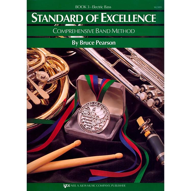 KJOSStandard Of Excellence Book 3 Electric Bass