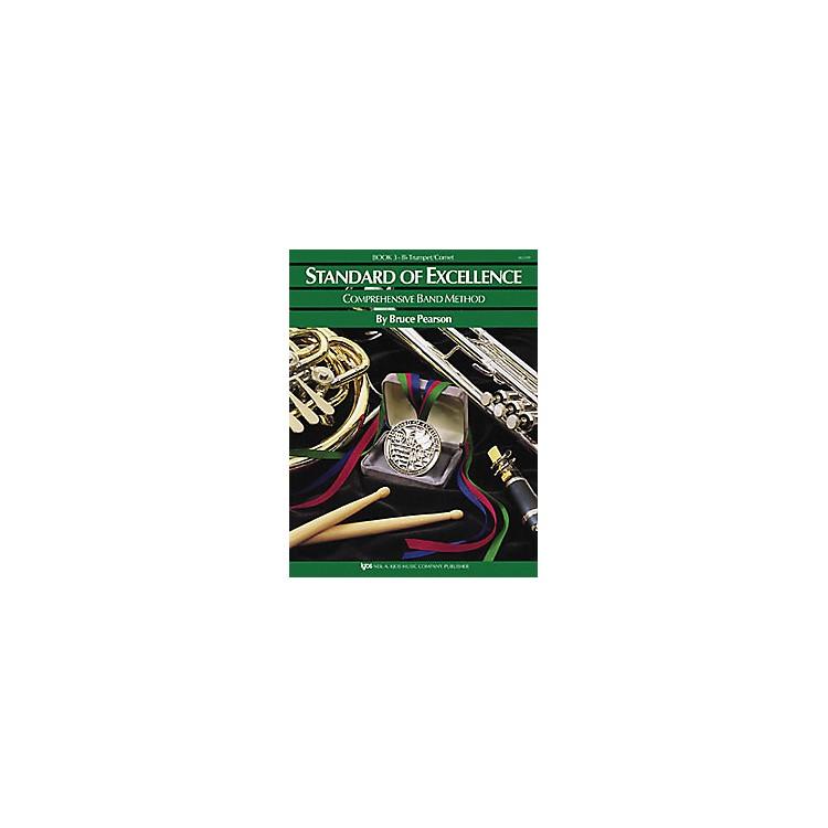 KJOSStandard Of Excellence Book 3 Trumpet