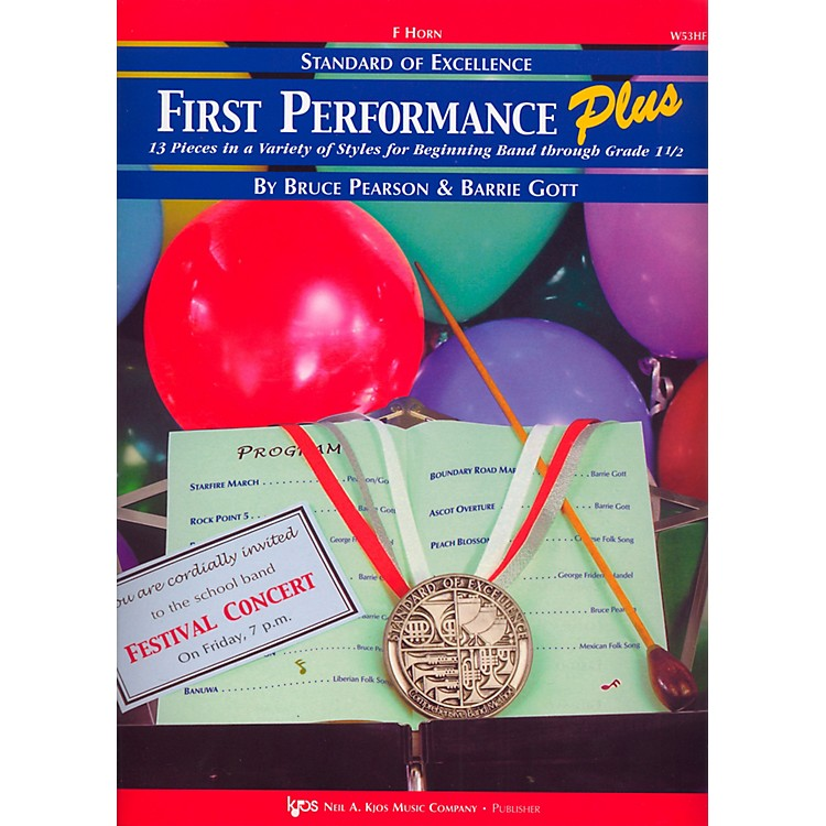 KJOSStandard Of Excellence First Performance Plus-FRENCH HORN