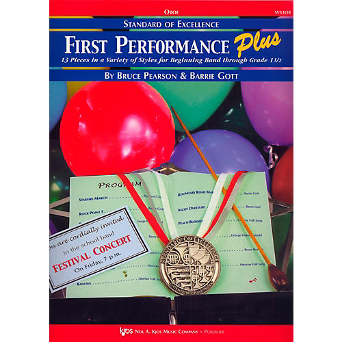 KJOS Standard Of Excellence First Performance Plus-OBOE