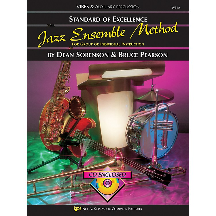 KJOSStandard Of Excellence for Jazz Ensemble Vibes /Aux Percussion