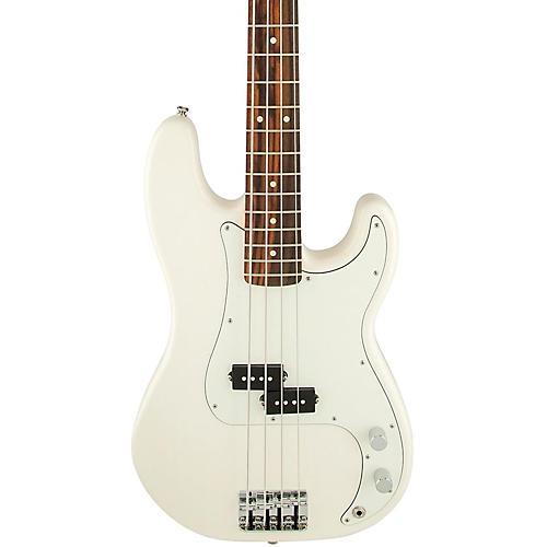 Fender Standard Precision Bass Guitar Arctic White Rosewood Fretboard