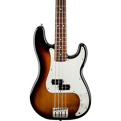 Fender Standard Precision Bass Guitar Brown Sunburst Rosewood Fretboard