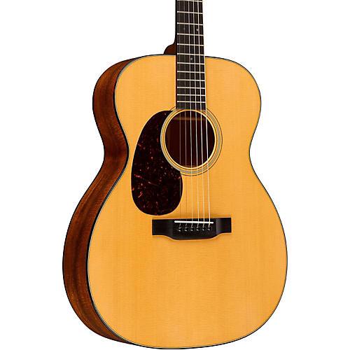 Martin Standard Series 000-18 Auditorium Left-Handed Acoustic Guitar-thumbnail