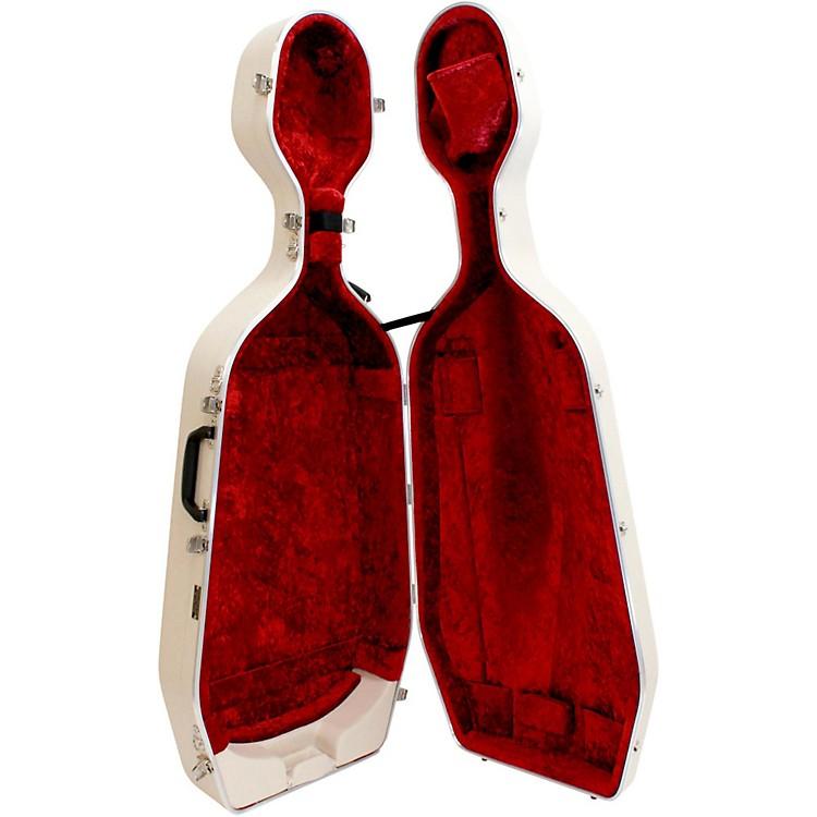 Hiscox CasesStandard Series Cello CaseIvory Shell/Red Int