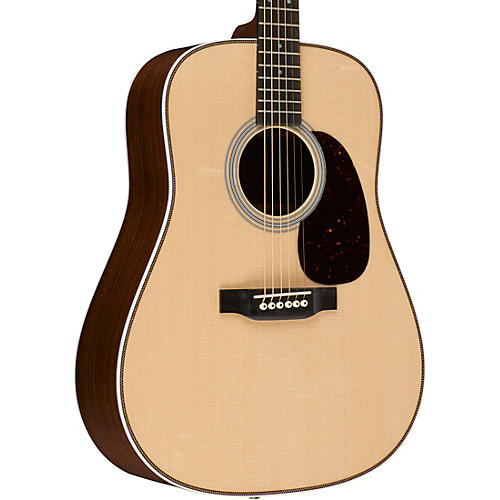martin standard series custom hd 28e dreadnought acoustic electric guitar natural musician 39 s. Black Bedroom Furniture Sets. Home Design Ideas