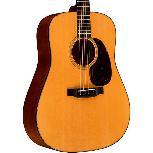 Martin Standard Series D-18 Dreadnought Acoustic Guitar Natural