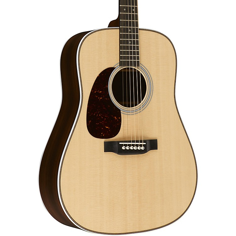 Martin Standard Series HD-28L Left-Handed Dreadnought Acoustic Guitar Natural