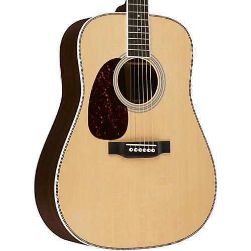 Martin Standard Series HD-35 Dreadnought Left-Handed Acoustic Guitar-thumbnail