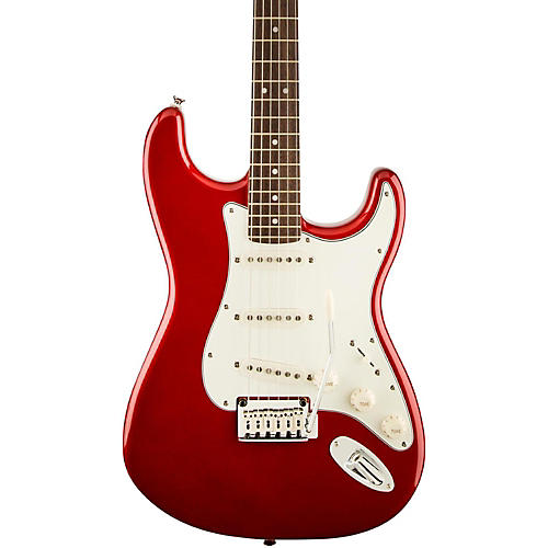 Squier Standard Stratocaster Electric Guitar Candy Apple Red Rosewood Fretboard
