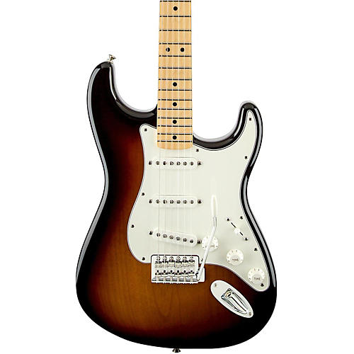 Fender Standard Stratocaster Electric Guitar with Maple Fretboard-thumbnail