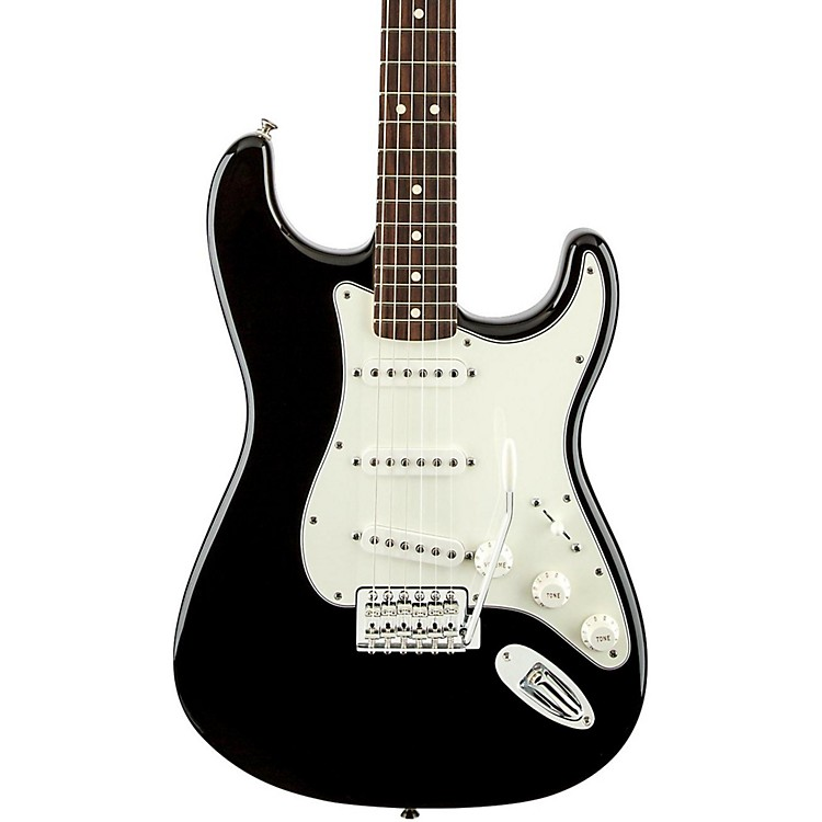 Fender Standard Stratocaster Electric Guitar with Rosewood Fretboard Brown Sunburst Rosewood Fretboard