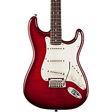 Standard Stratocaster FMT Transparent Crimson Red