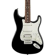 Fender Standard Stratocaster HSS Electric Guitar Black Rosewood Fretboard