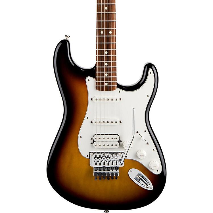 FenderStandard Stratocaster HSS with Floyd Rose Electric GuitarBlackRosewood Fretboard