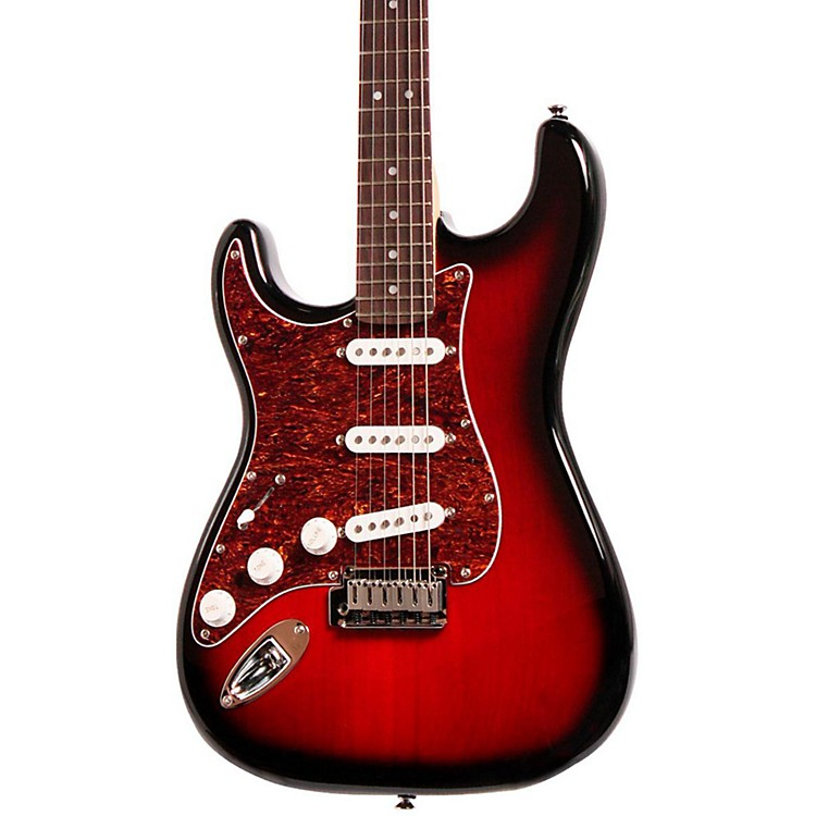 SquierStandard Stratocaster Left-Handed Electric GuitarAntique Burst