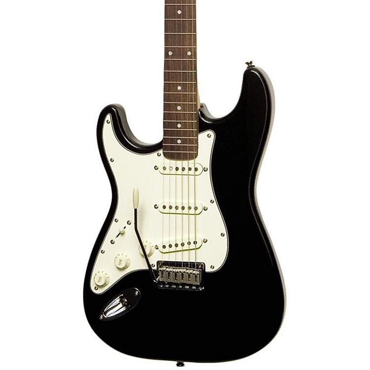 SquierStandard Stratocaster Left-Handed Electric GuitarBlack MetallicRosewood Fretboard