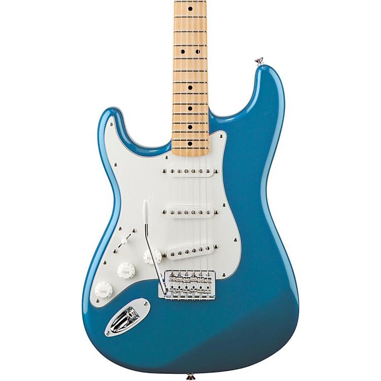 FenderStandard Stratocaster Left Handed  Electric GuitarLake Placid BlueGloss Maple Fretboard