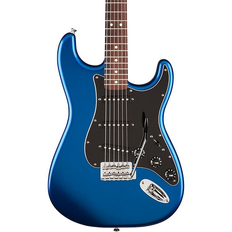 FenderStandard Stratocaster Satin Electric GuitarOcean Blue CandyRosewood Fingerboard