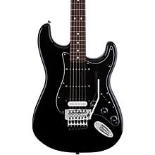 Fender Standard Stratocaster w/Floyd Rose HSS Rosewood Fingerboard Electric Guitar Black