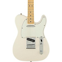 Standard Telecaster Electric Guitar Arctic White Gloss Maple Fretboard