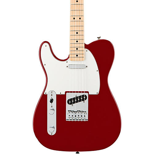 Fender Standard Telecaster Left Handed  Electric Guitar Candy Apple Red Gloss Maple Fretboard