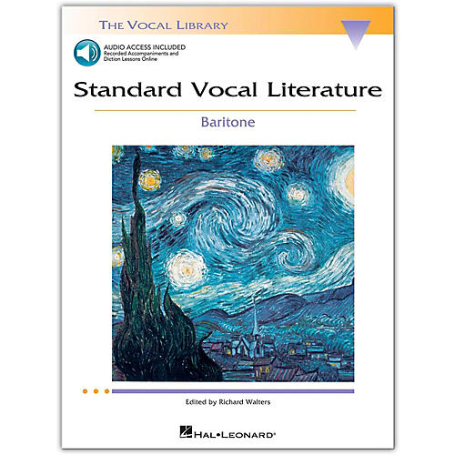 Hal Leonard Standard Vocal Literature - An Introduction To Repertriore for Baritone Book/2CD