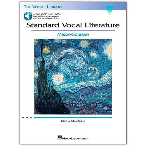 Hal Leonard Standard Vocal Literature - An Introduction To Repertriore for Mezzo Soprano Book/2CD
