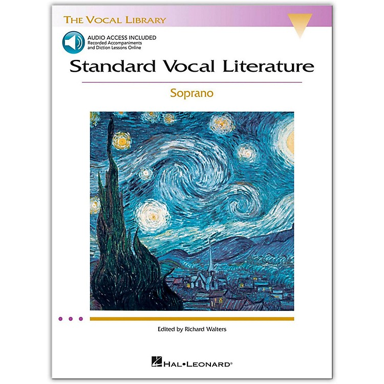 Hal LeonardStandard Vocal Literature - An Introduction To Repertriore for Soprano Book/2CD
