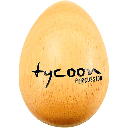 Tycoon Percussion Standard Wooden Egg Shakers (Pair)-thumbnail