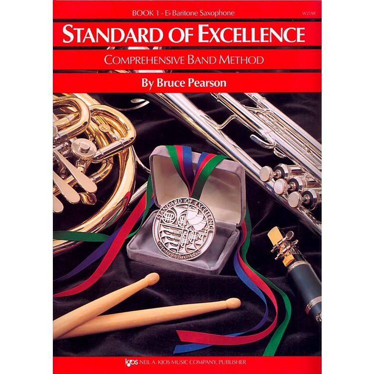 KJOSStandard of Excellence Book 1 Baritone Sax