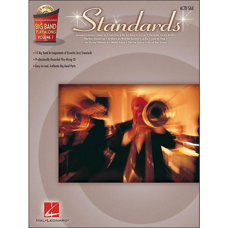 Hal LeonardStandards - Big Band Play-Along Vol. 7 Alto Sax