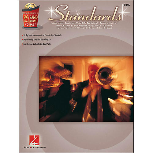 Hal Leonard Standards - Big Band Play-Along Vol. 7 Drums-thumbnail