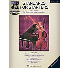 Hal Leonard Standards For Starters - Easy Jazz Play-Along Vol. 2 Book/CD