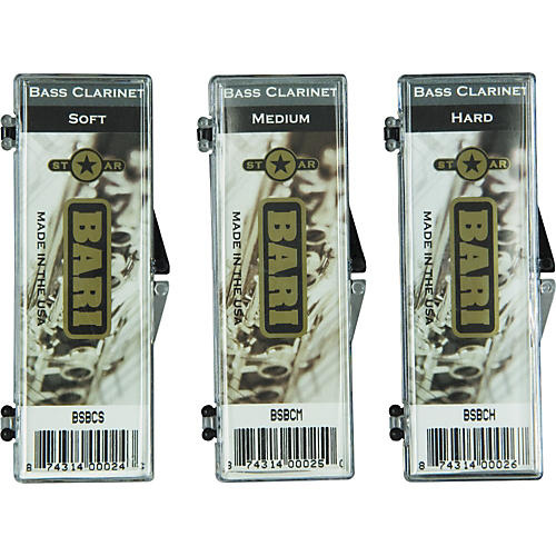 Bari Star Bass Clarinet Reed Medium Hard