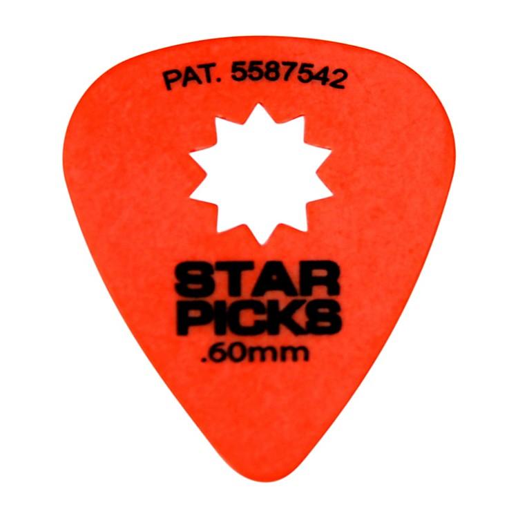 EverlyStar Grip Guitar Picks (50 Picks).60mmOrange