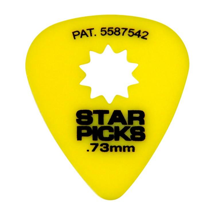 everly star grip guitar picks 50 picks 73mm yellow musician 39 s friend. Black Bedroom Furniture Sets. Home Design Ideas