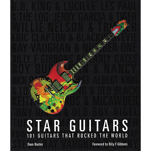 Hal Leonard Star Guitars: 100 Guitars That Rocked the World Book-thumbnail