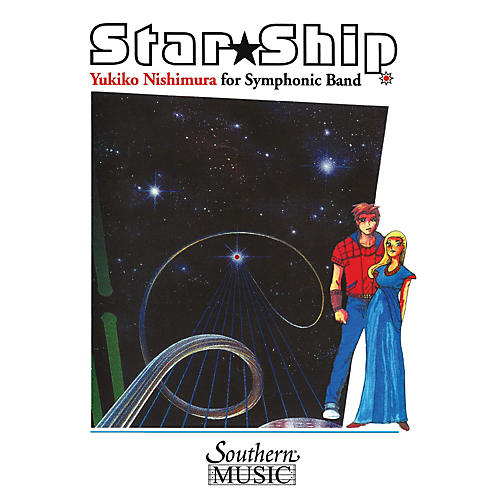 Southern Star Ship Concert Band Level 3 Composed by Yukiko Nishimura-thumbnail