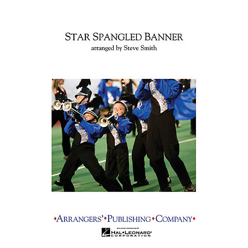 Arrangers Star Spangled Banner Marching Band Level 3 Arranged by Steve Smith-thumbnail