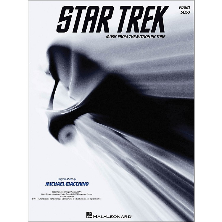 Hal Leonard Star Trek - Music From The Motion Picture Soundtrack arranged for piano solo