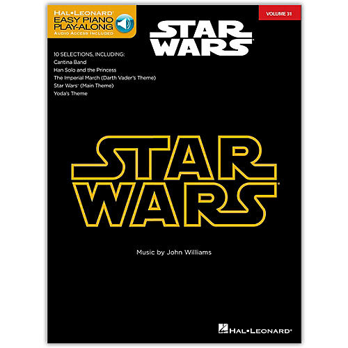 Hal Leonard Star Wars - Easy Piano Play-Along Volume 31 Book/Online Audio