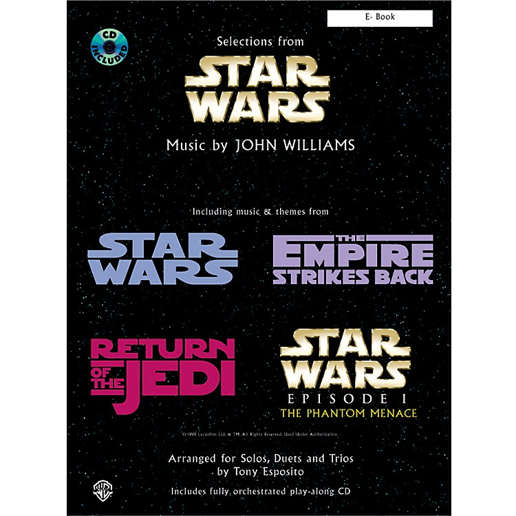 Alfred Star Wars -- Selections E-Flat Book