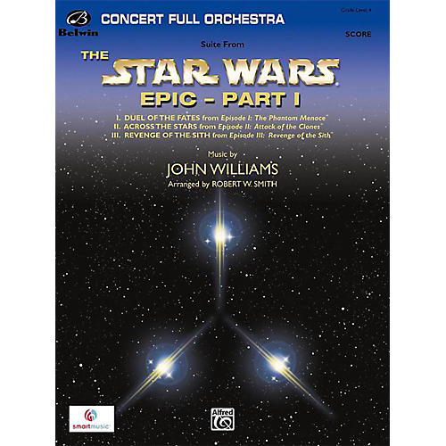 BELWIN Star Wars Epic Part I, Suite from the Grade 4-thumbnail