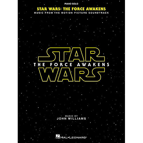 Hal Leonard Star Wars Episode VII – The Force Awakens Piano Solo Songbook-thumbnail