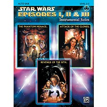 Alfred Star Wars Episodes I, II & III Instrumental Solos - Alto Sax (Book/CD)