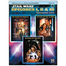 Alfred Star Wars: Episodes I, II & III Instrumental Solos for Strings Viola Book & CD
