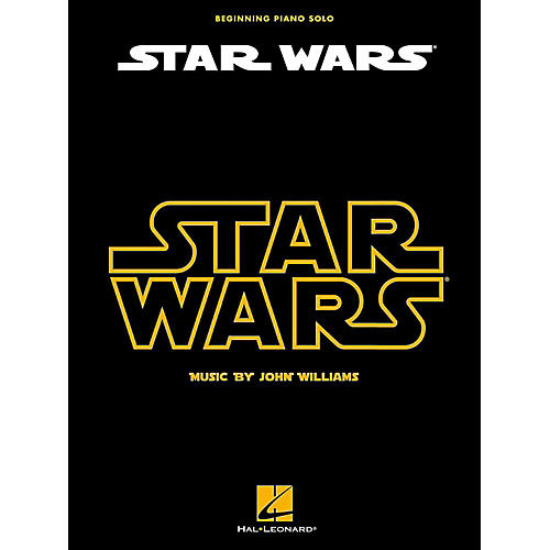 Hal Leonard Star Wars For Beginning Piano Solo-thumbnail