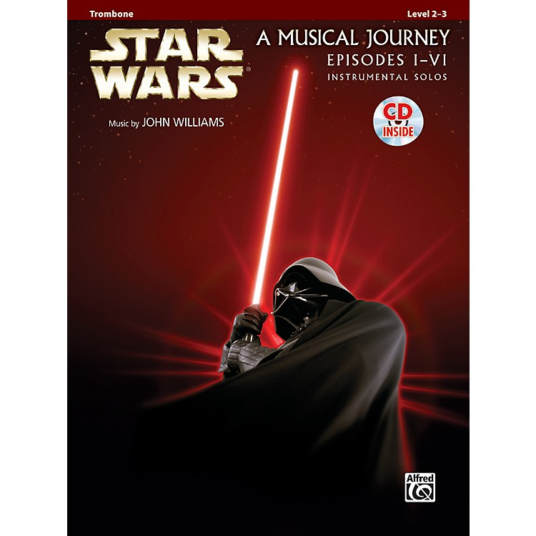 AlfredStar Wars Instrumental Solos (Movies I-VI) Trombone Book & CD